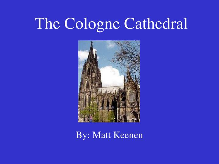 the cologne cathedral n.