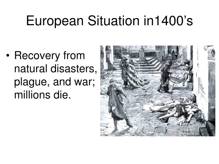 European Situation in1400's