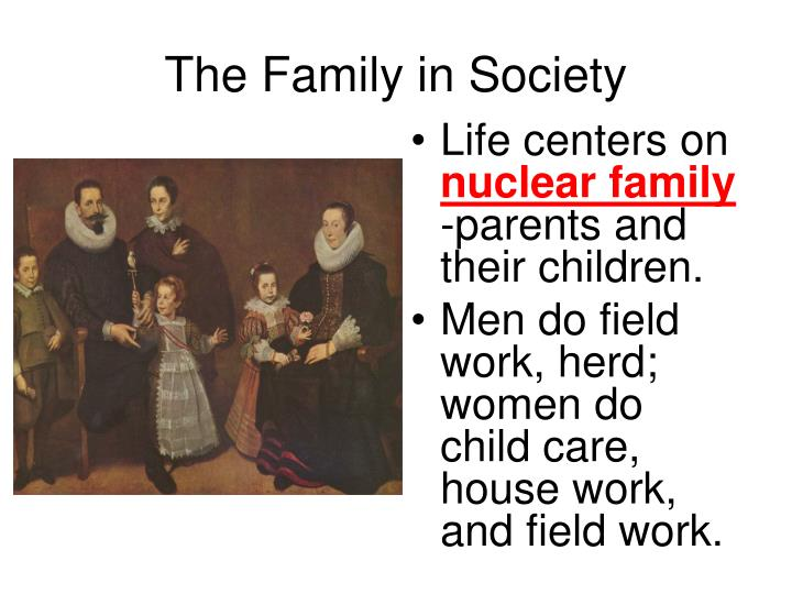The Family in Society