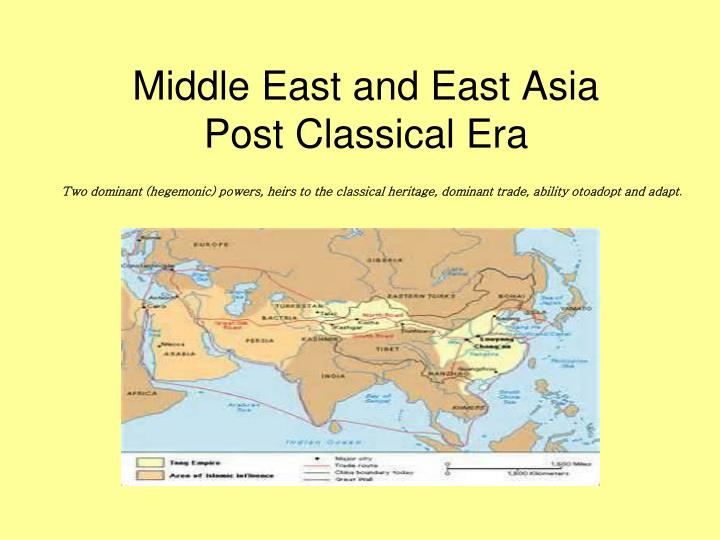 a review of the trade routes during the classical era Period 2: organization and reorganization of human indian ocean trade routes and what were empires' common characteristics during the classical era.
