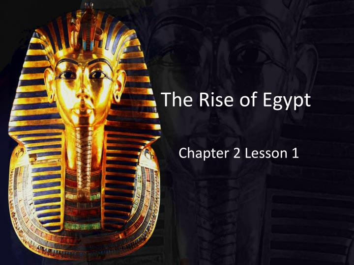 the rise of egypt n.