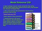 model referensi osi