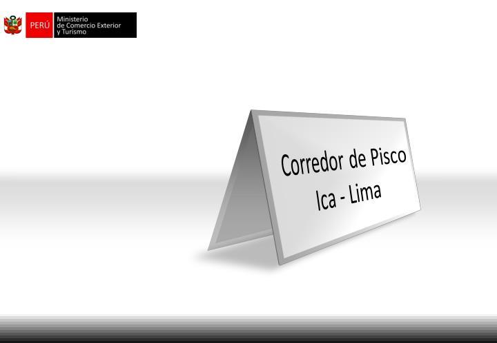 Corredor de Pisco