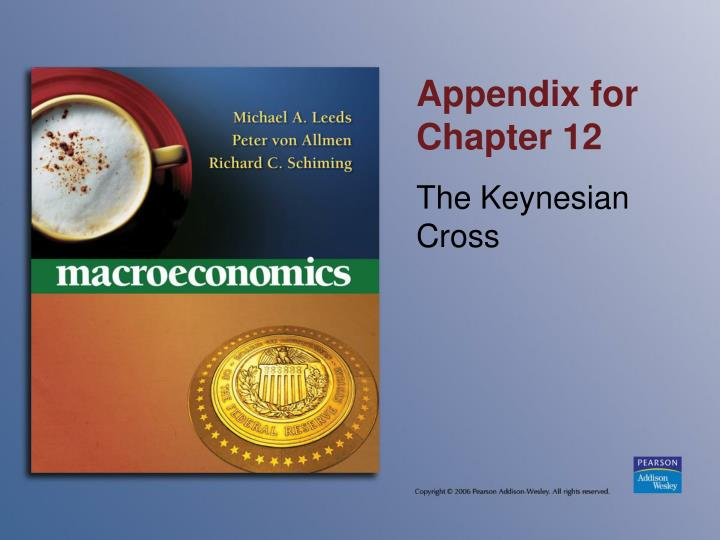 Appendix for Chapter 12