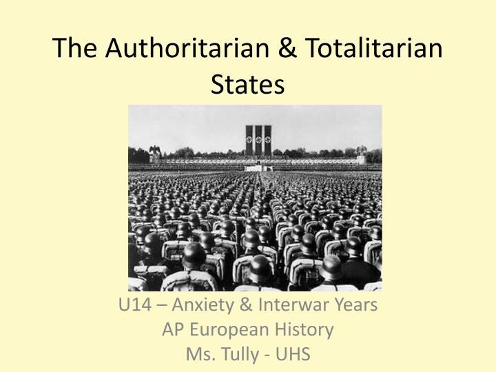 the dangers of a totalitarian dictatorship Totalitarian regimes stay in political power through rule by one leader and an all-encompassing propaganda campaign, which is disseminated through the state.