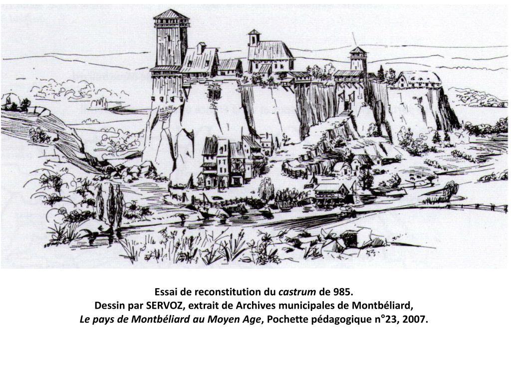 Cours De Dessin Montbéliard ppt - montbéliard au fil des siècles powerpoint presentation