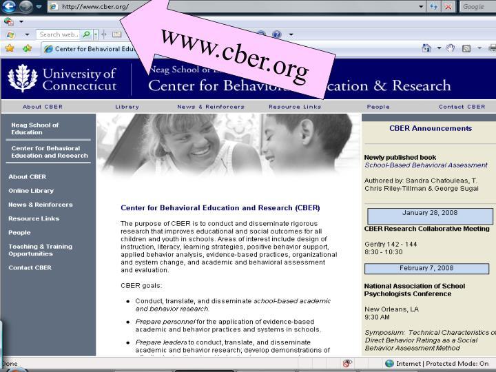 Www.cber.org