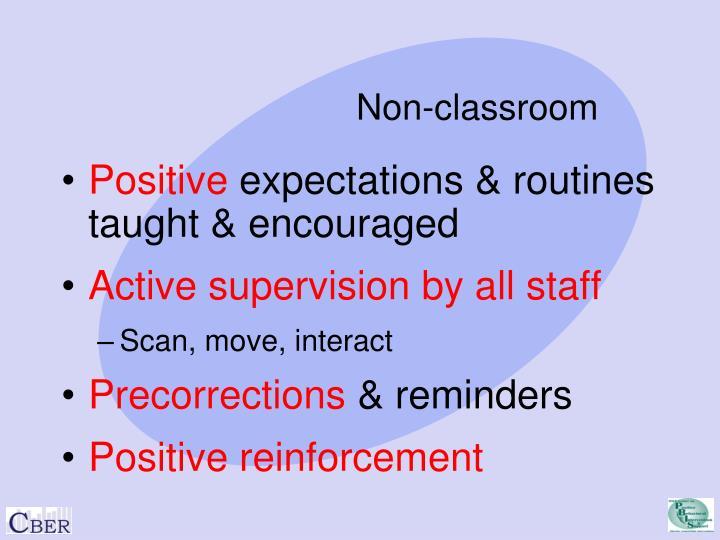 Non-classroom