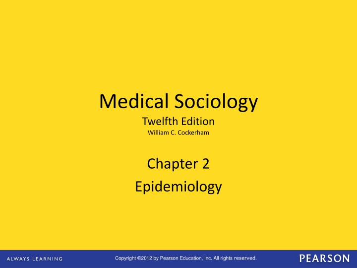 chapter 2 epidemiology n.