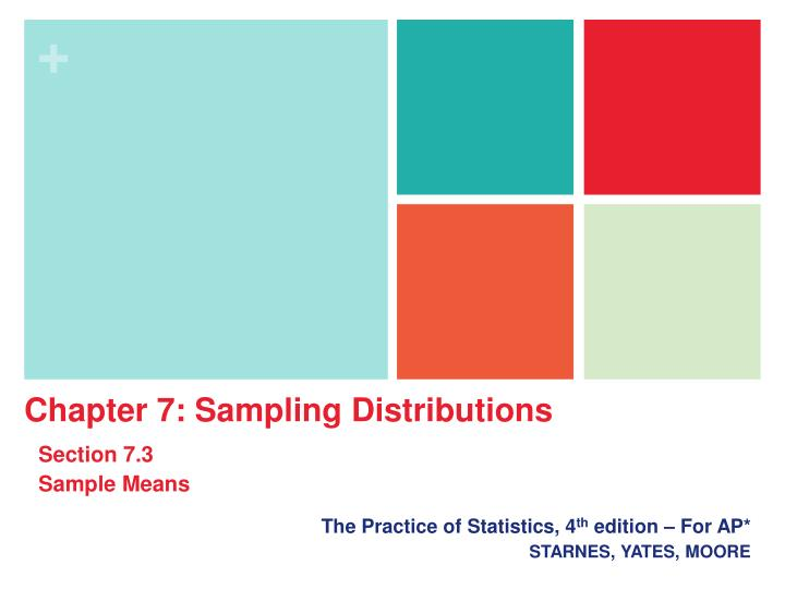 the practice of statistics 4 th edition for ap starnes yates moore n.