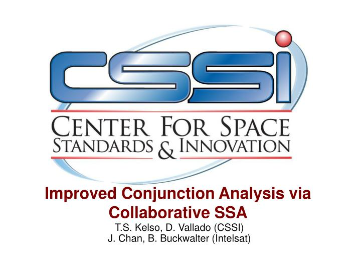 Improved conjunction analysis via collaborative ssa