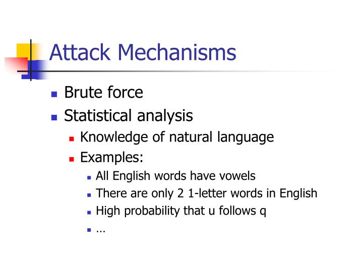 Attack Mechanisms