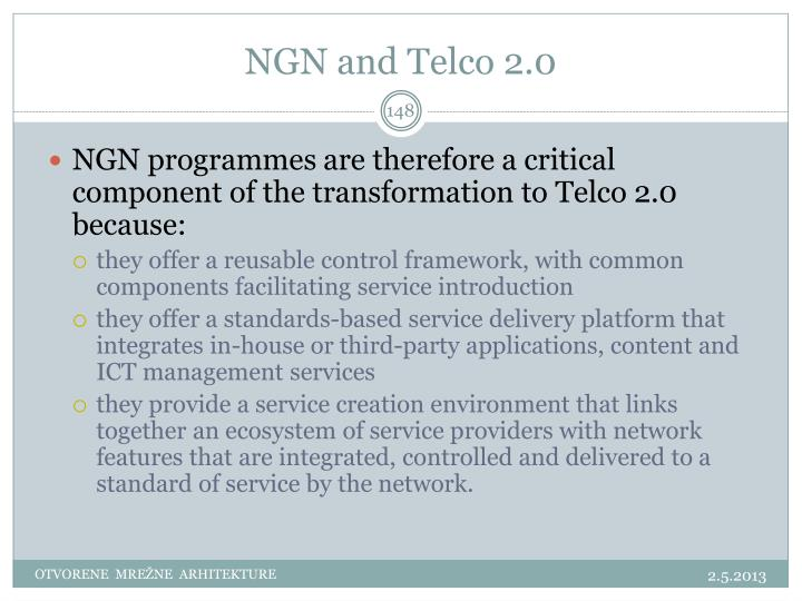 NGN and Telco 2.0