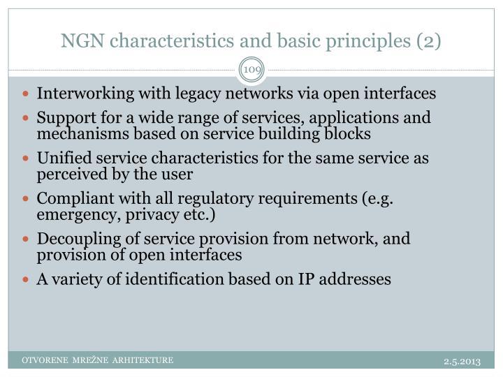 NGN characteristics and basic principles (2)