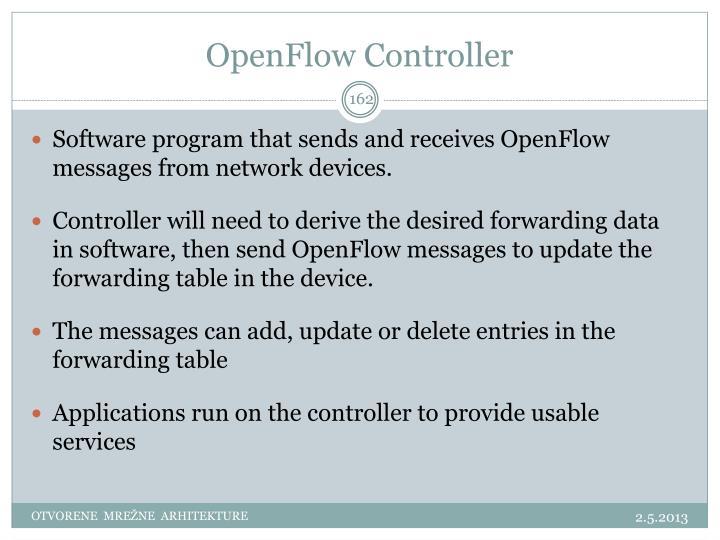 OpenFlow Controller