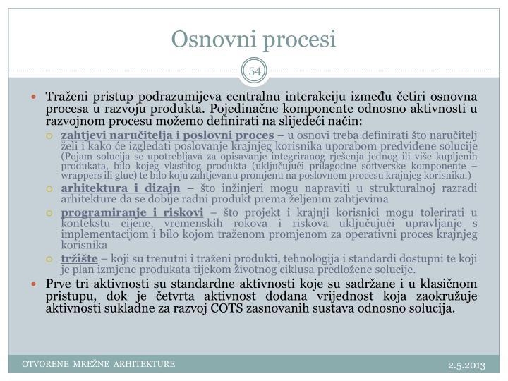 Osnovni procesi