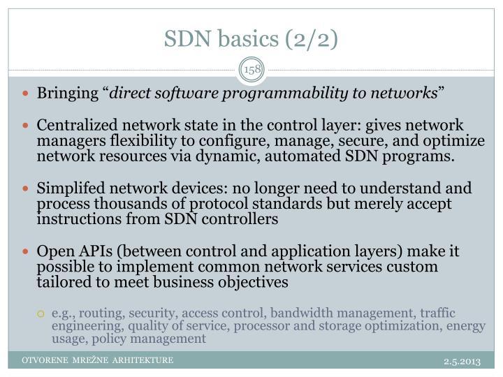 SDN basics (2/2)