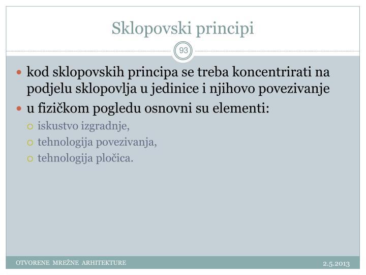 Sklopovski principi