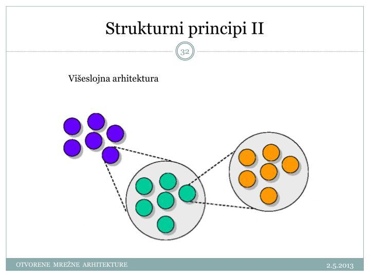 Strukturni principi II