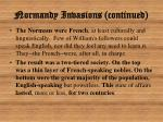 normandy invasions continued