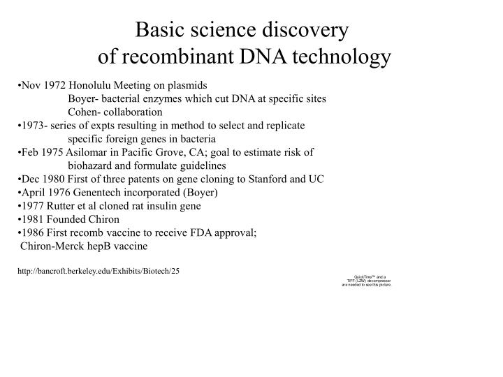 Basic science discovery