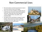 non commercial uses