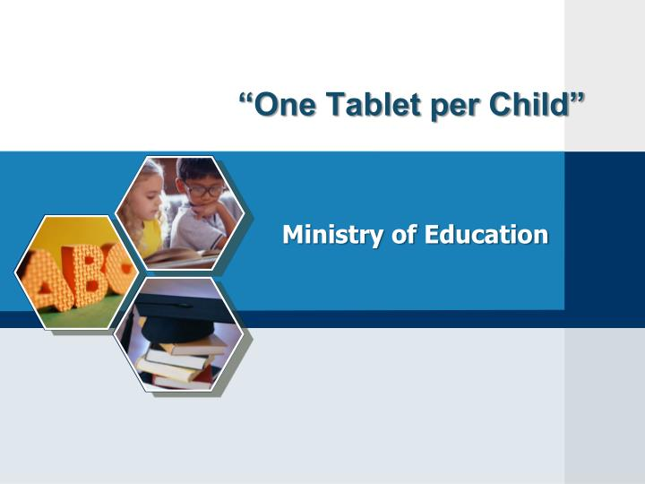 one tablet per child n.