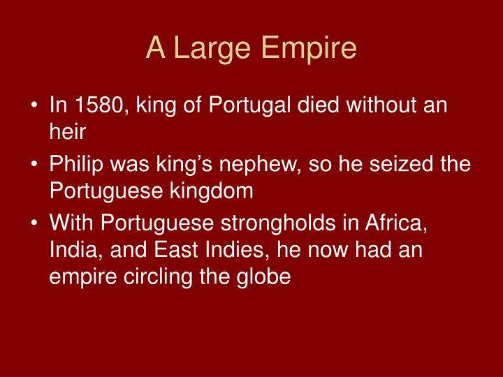 A Large Empire
