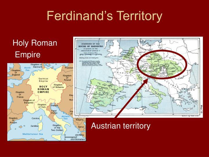 Ferdinand's Territory