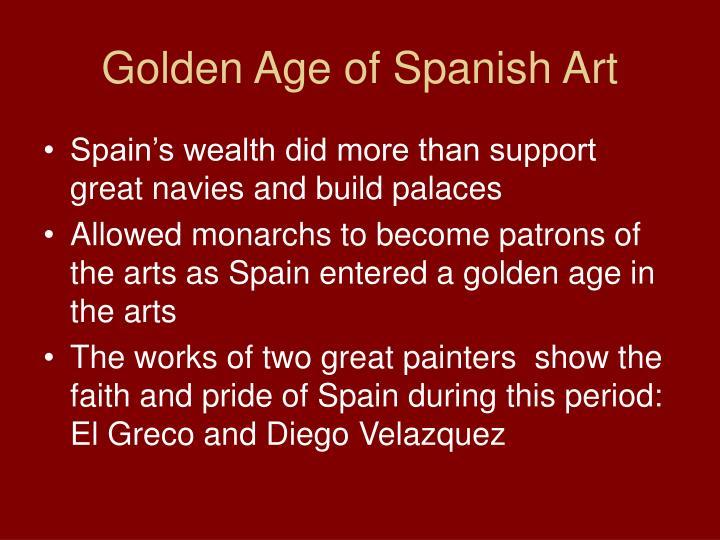 Golden Age of Spanish Art