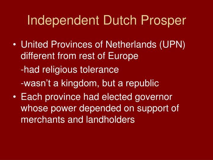 Independent Dutch Prosper