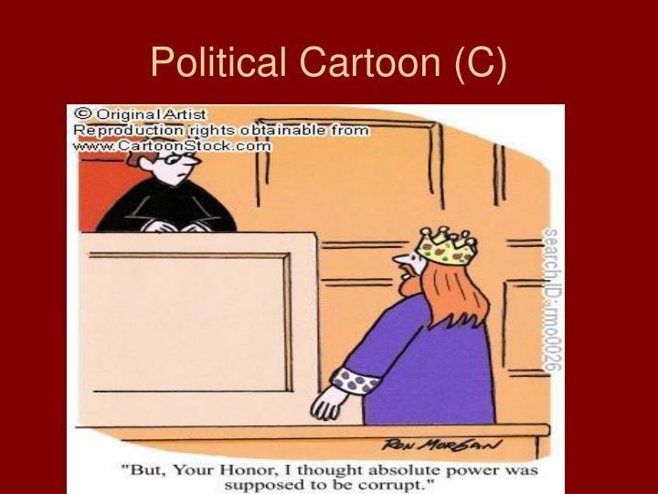 Political Cartoon (C)