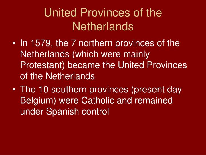 United Provinces of the Netherlands