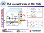 11 3 internal forces of thin plate1