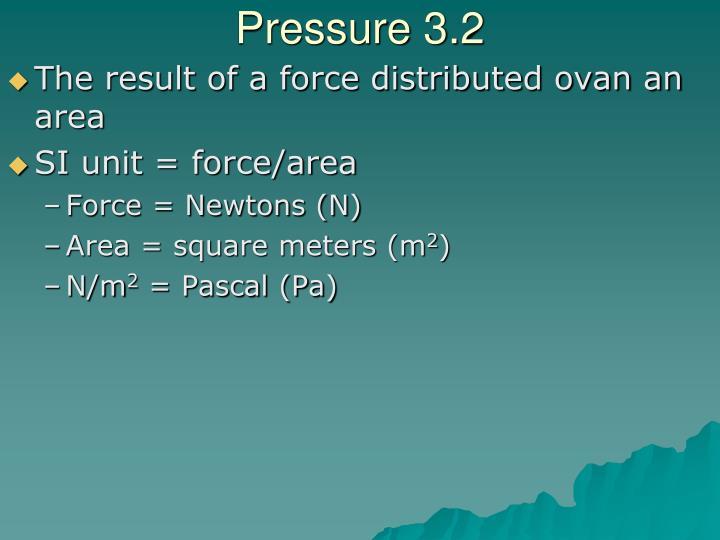 Pressure 3.2