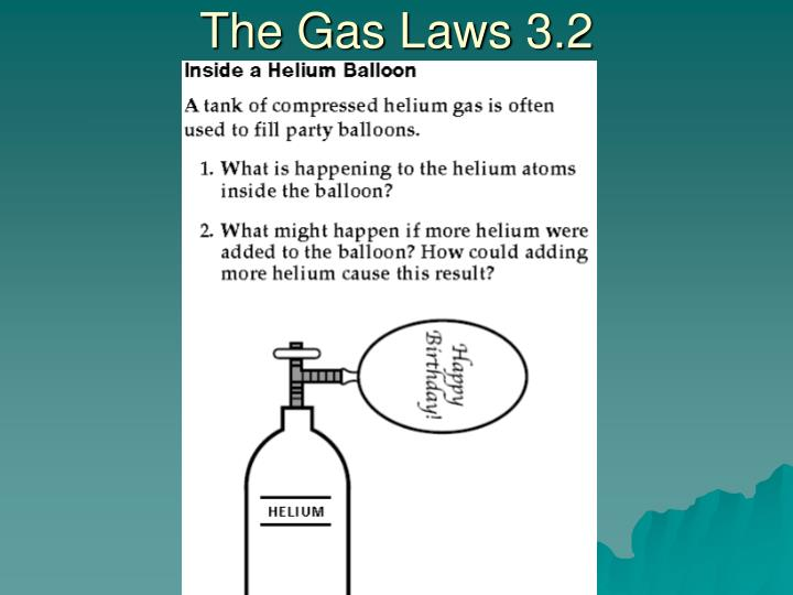 The Gas Laws 3.2