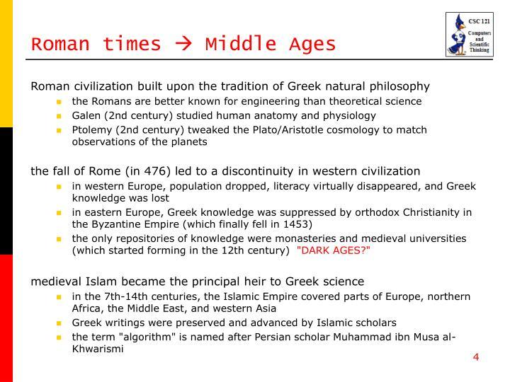 Roman times