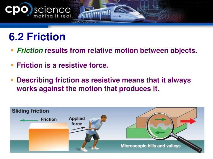 6.2 Friction