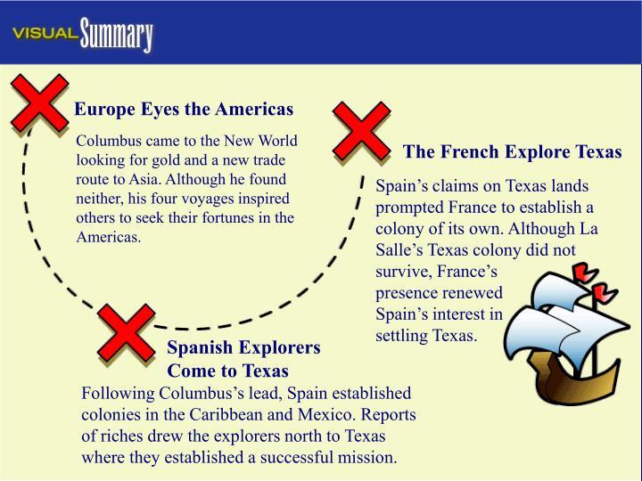 Europe Eyes the Americas