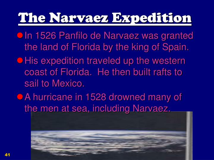 The Narvaez Expedition