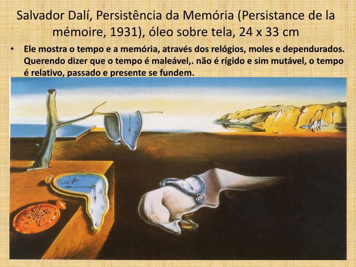 Salvador Dalí, Persistência da Memória (