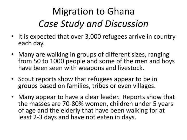 Migration to Ghana
