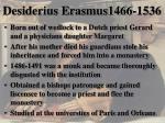 desiderius erasmus1466 1536