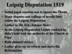 leipzig disputation 1519