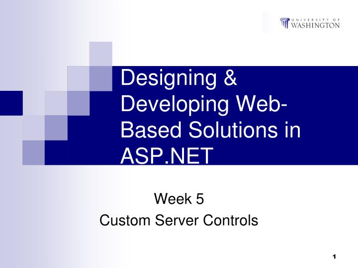 designing developing web based solutions in asp net n.