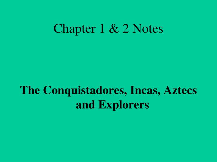 chapter 1 2 notes n.