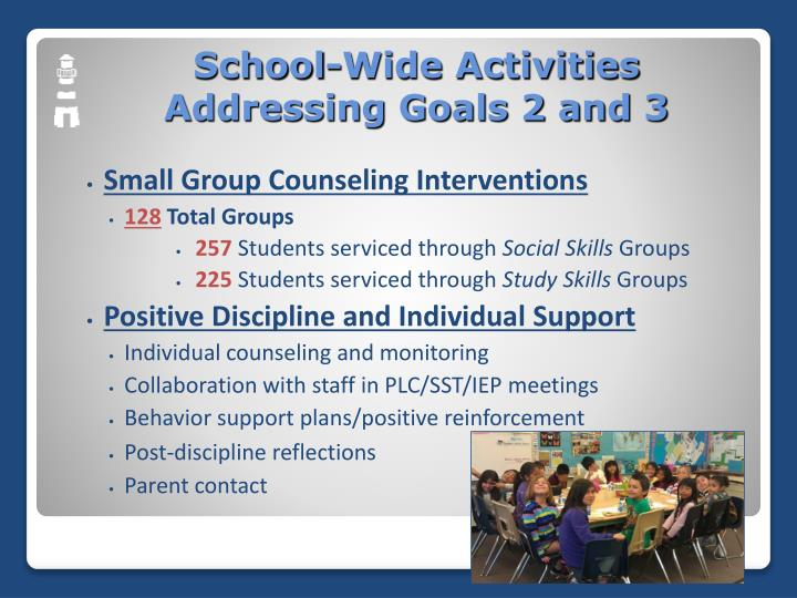 Small Group Counseling Interventions