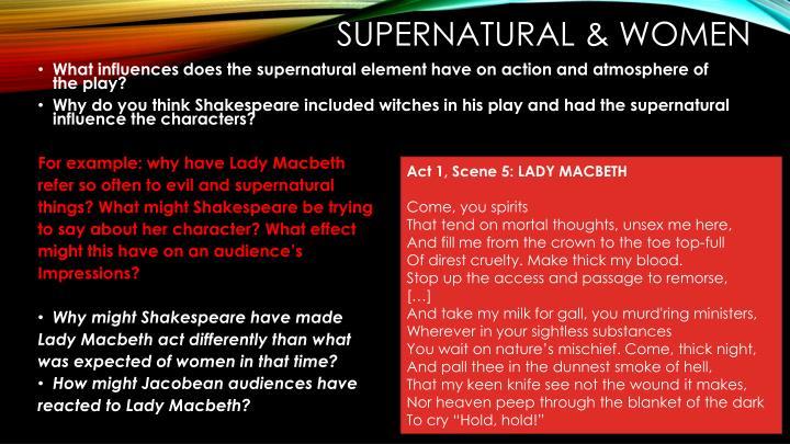Supernatural & Women