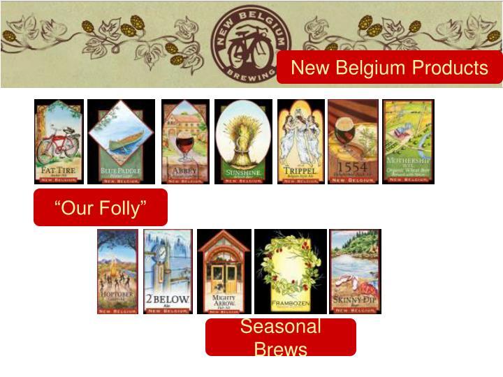 New Belgium Products