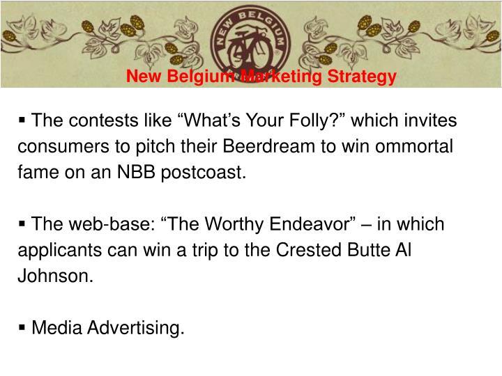 New Belgium Marketing Strategy